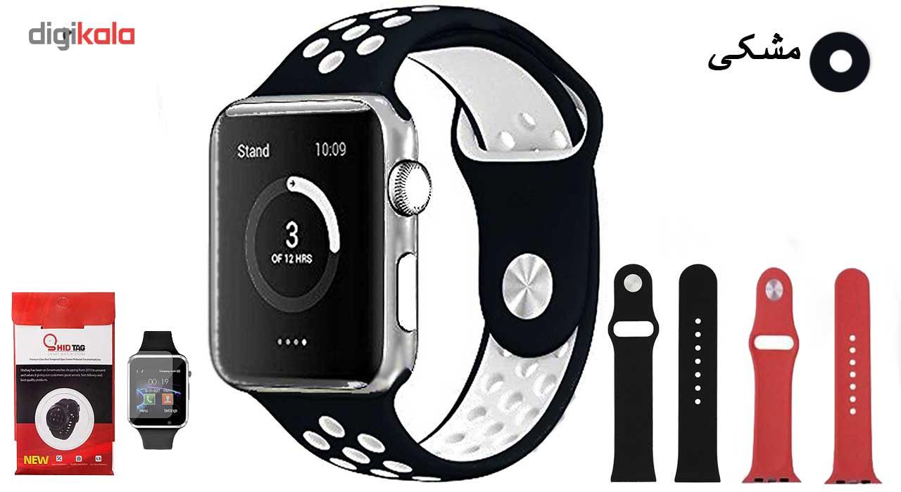ساعت هوشمند مدل  iWO-s  همراه دو عدد بند اضافه main 1 4