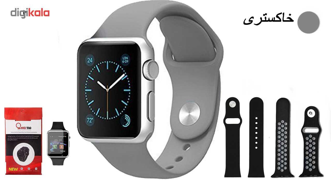 ساعت هوشمند مدل  iWO-s  همراه دو عدد بند اضافه main 1 5