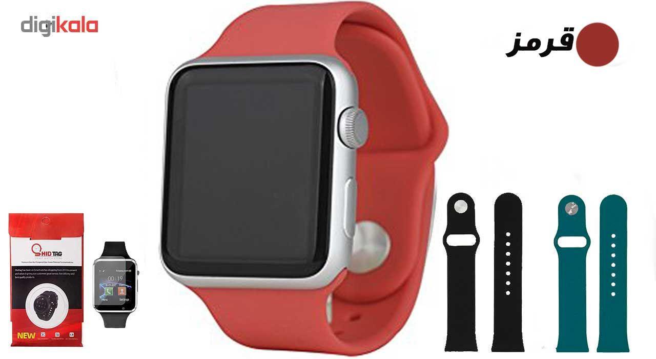 ساعت هوشمند مدل  iWO-s  همراه دو عدد بند اضافه main 1 6