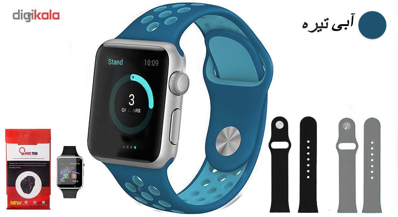ساعت هوشمند مدل  iWO-s  همراه دو عدد بند اضافه main 1 7