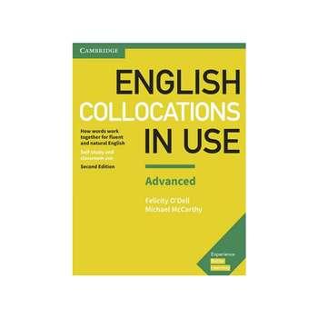 کتاب English collocation in use advanced اثر M. McCarthy & F.ODell انتشارات کمبریج
