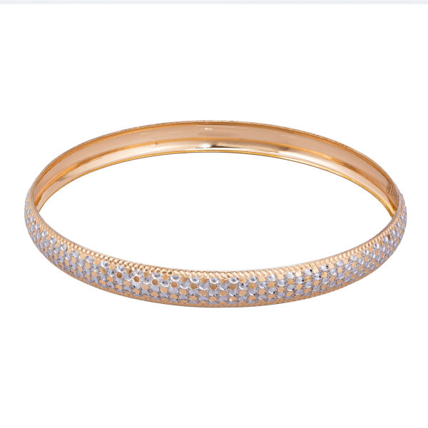 النگو طلا 18 عیار زنانه گالری یارطلا کد AL17-W-4