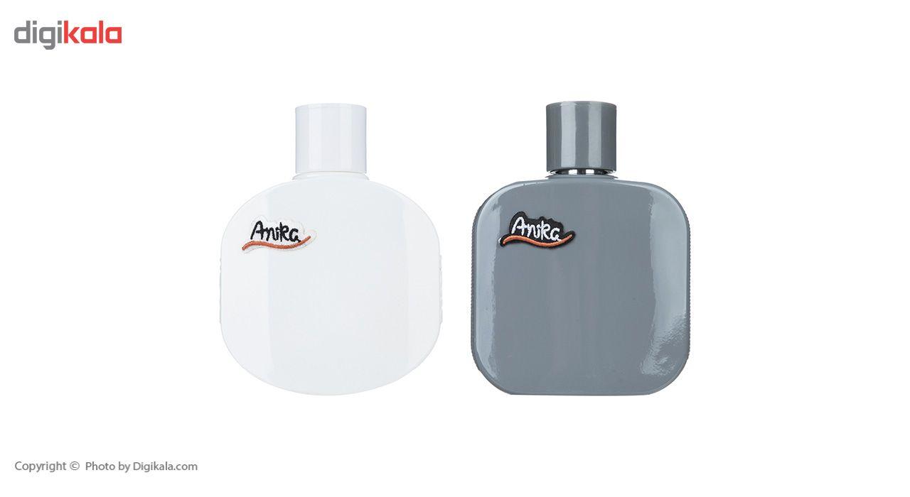 ادو تویلت مردانه آنیکا مدل Cris حجم 100 میلی لیتر به همراه ادوتویلت زنانه آنیکا مدل Blanc حجم 90 میلی لیتر