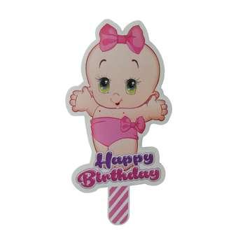 شمع تولد طرح نوزاد کد 0042