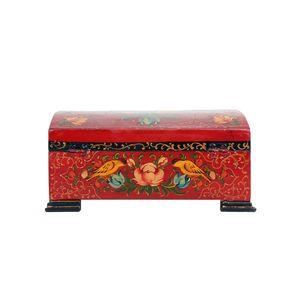 جعبه جواهر مدل گل مرغ قاجاریه