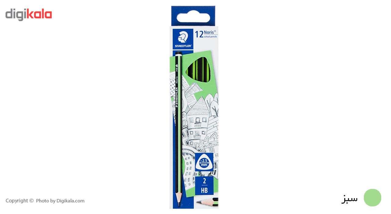 مداد مشکی استدلر مدل Noris بسته 12 عددی main 1 6
