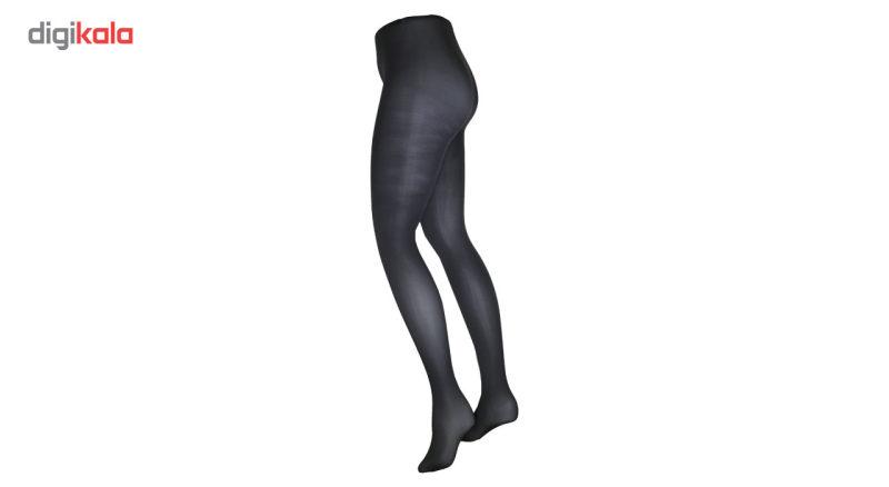 جوراب شلواری زنانه آلمانی نوردای  طوسی کد 716003/3 بسته 2 عددی