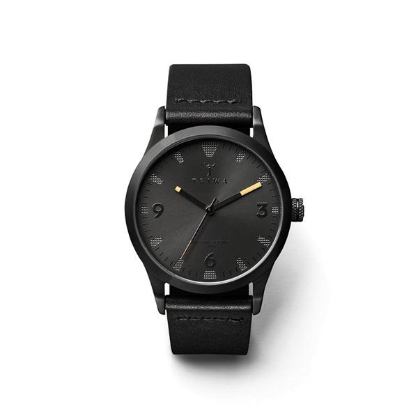 ساعت مچی عقربه ای تریوا مدل Sort of black ,black classic 28
