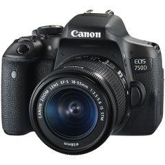 دوربین دیجیتال کانن مدل EOS 750D به همراه لنز 55-18 میلی متر IS STM