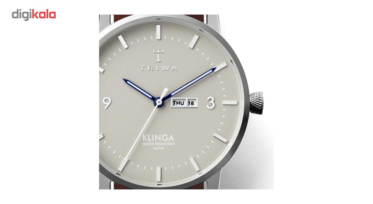 ساعت مچی عقربه ای تریوا مدل  Mist Klinga