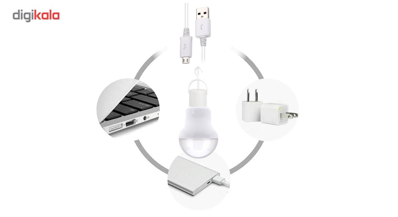 لامپ LED یو اس بی/OTG  مدل two in one main 1 2