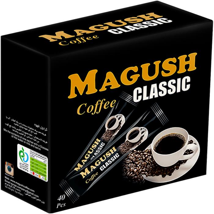 قهوه فوری کلاسیک ماگوش بسته 40 عددی
