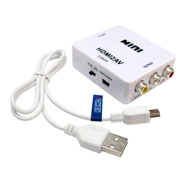 مبدل HDMI به AV مکا مدل MC17