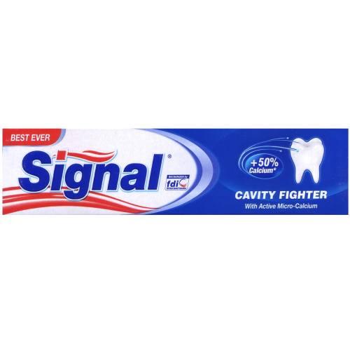 خمیر دندان سیگنال مدل Cavity Fighter تیوب 50 میلی لیتر