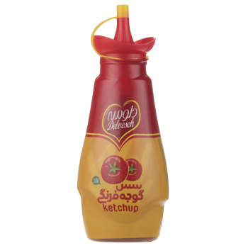 سس  گوجه فرنگی دلوسه مقدار 450 گرم