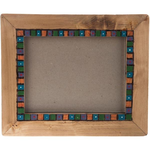 قاب عکس چوبی گالری اشکان نقش 4 سایز 18 × 13 سانتی متر