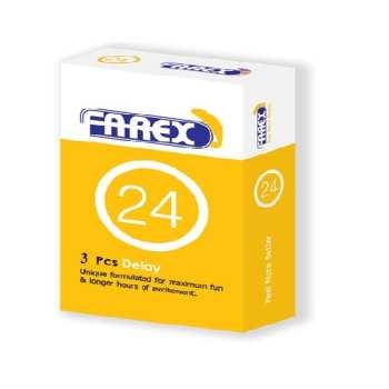 کاندوم تاخیری فارکس مدل Delay بسته 3 عددی