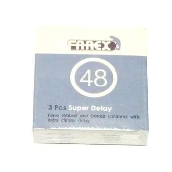کاندوم فارکس مدل Super Delay بسته 3 عددی