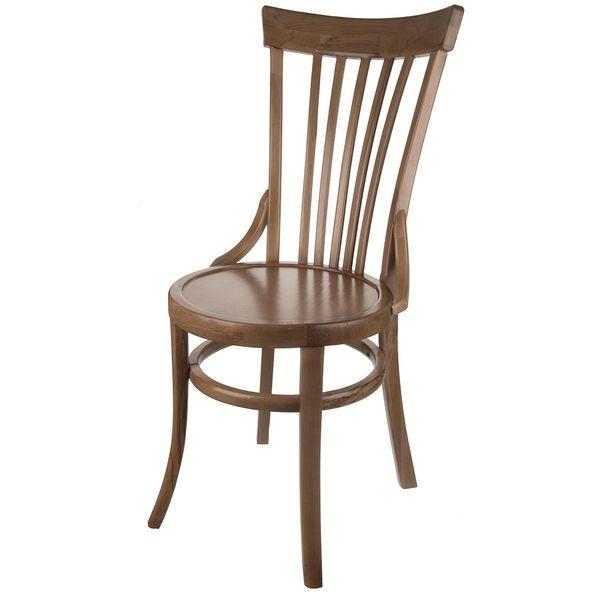 صندلی چوبی اسپرسان چوب طرح لهستانی کد S11