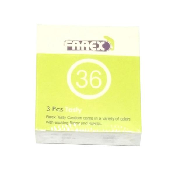 کاندوم فارکس مدل Tasty بسته 3 عددی