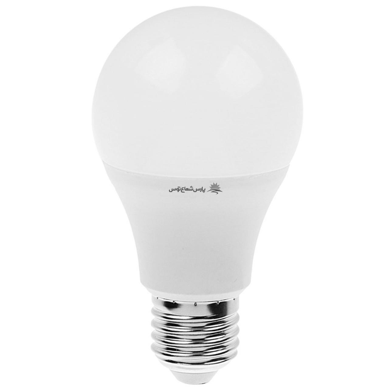 لامپ ال ای دی 9 وات پارس شعاع توس پایه E27