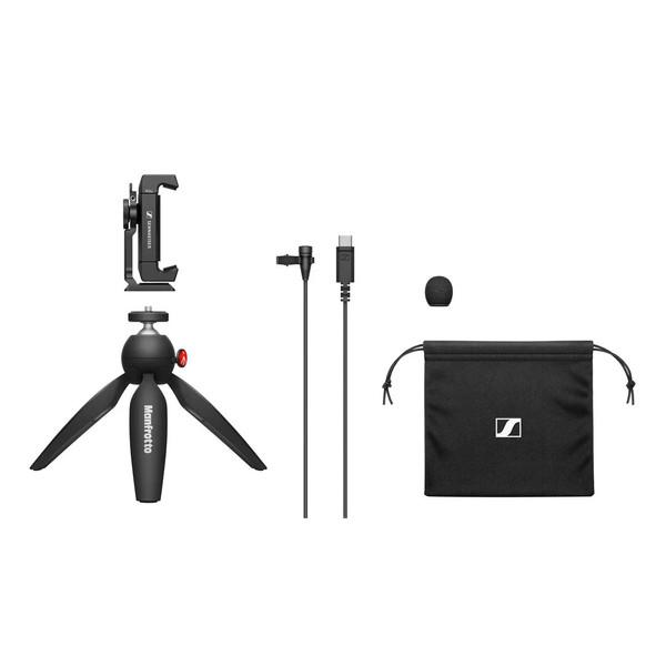 میکروفن یقه ای سنهایزر مدل XS Lavalier USB-C Mobile Kit