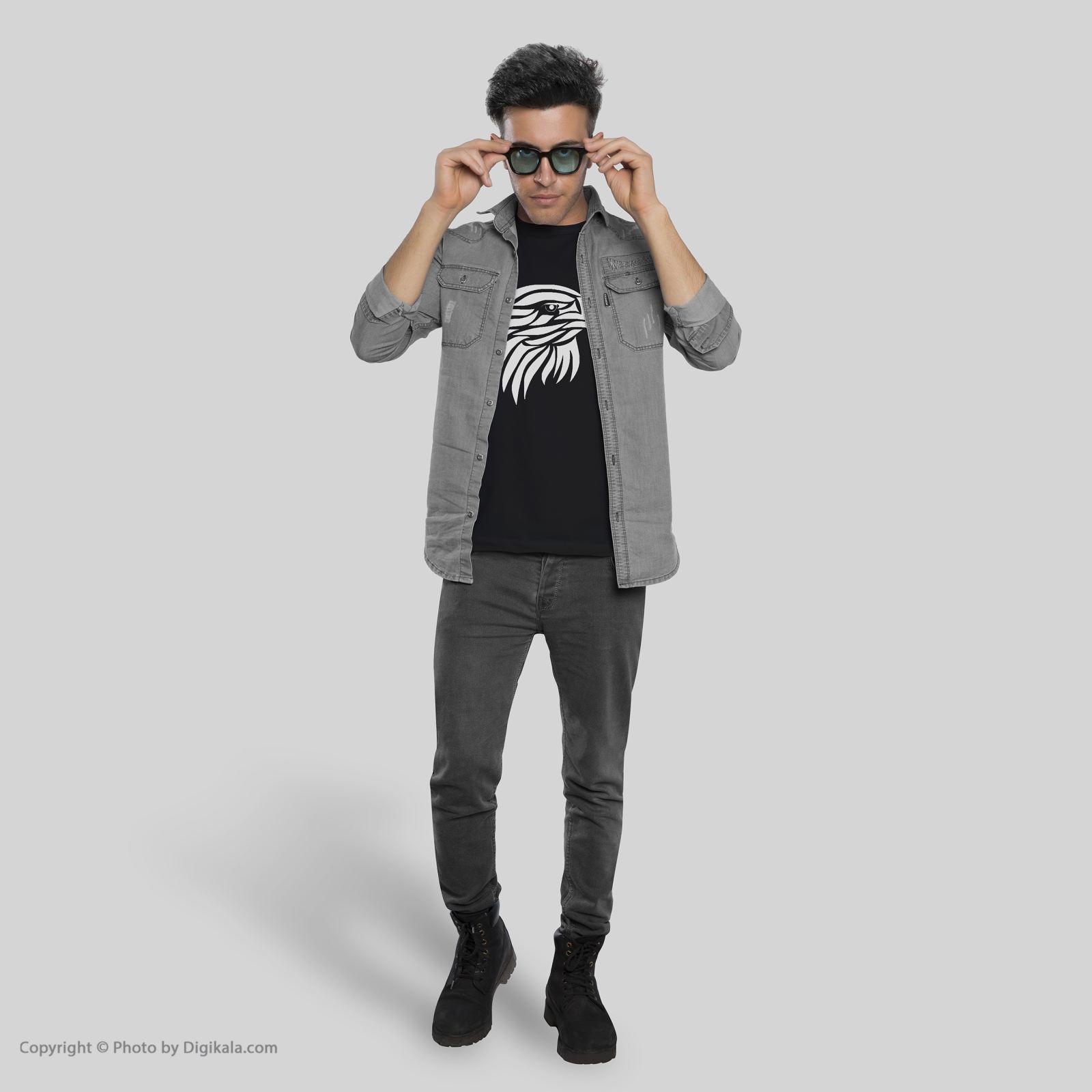 تی شرت آستین کوتاه مردانه طرح عقاب کد TR05 main 1 1