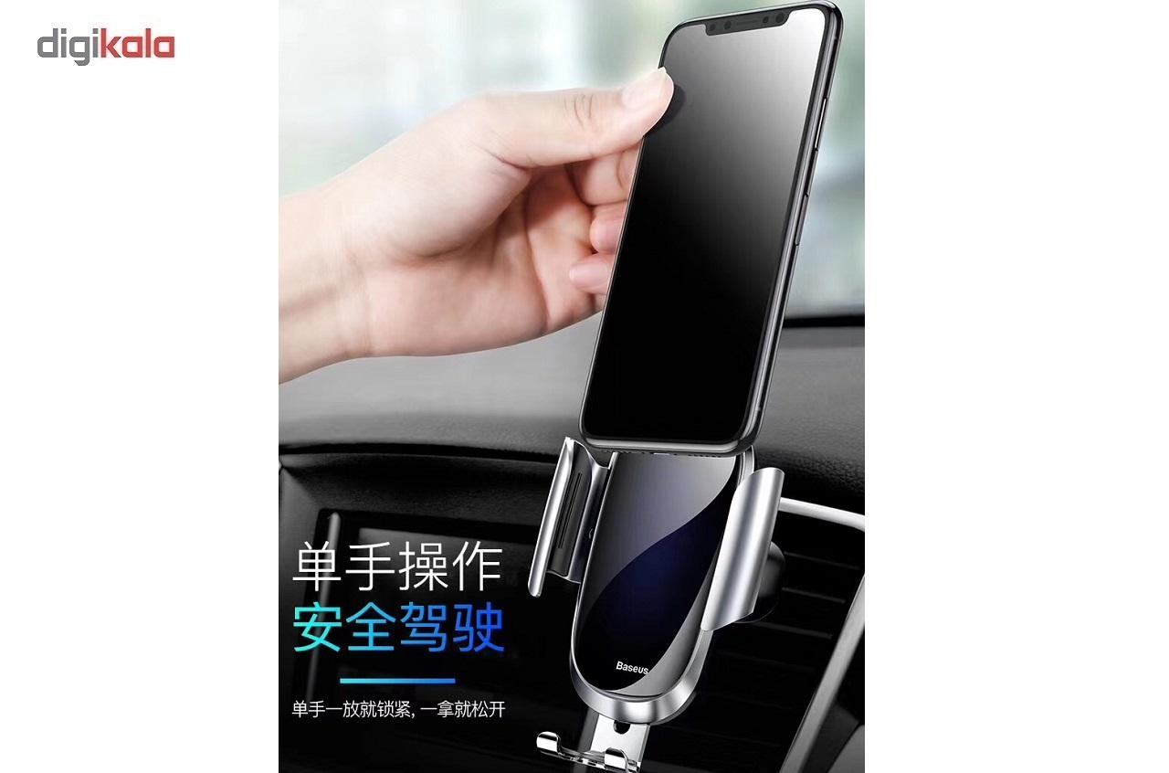پایه نگهدارنده گوشی موبایل باسئوس مدلFuture Gravity main 1 9
