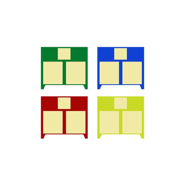 چیپ چهار رنگ کارتریج مدل 128A
