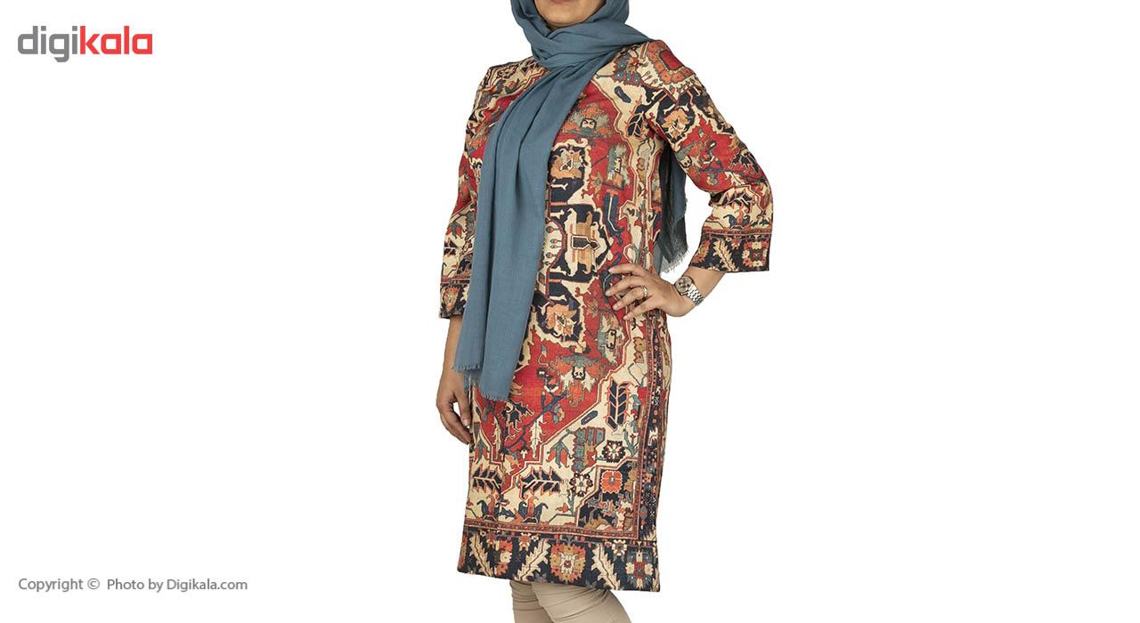 مانتو زنانه پارسی مدل فرش قرمز