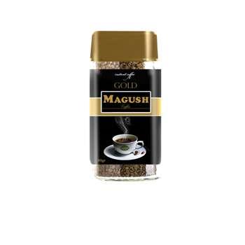 قهوه فوری ماگوش مدل گلد وزن 50 گرم
