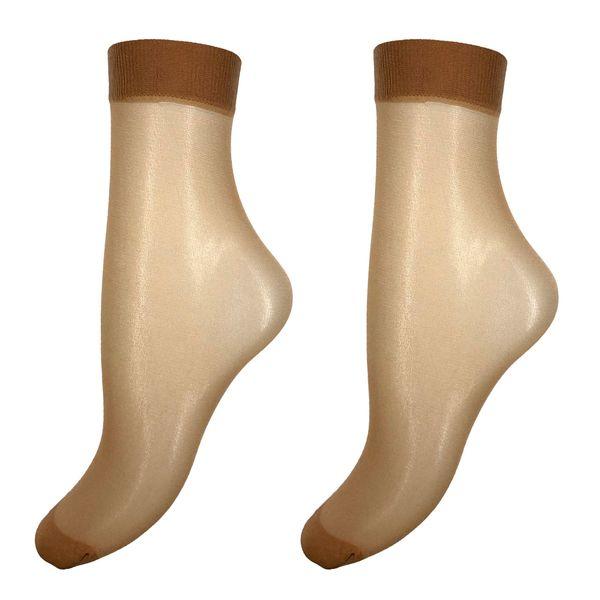 جوراب زنانه آلمانی نوردای رنگ پا کد 624881/2 بسته 10 عددی