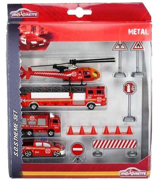 ست ماشین بازی ماژورت امداد آتش نشانی کد 8580