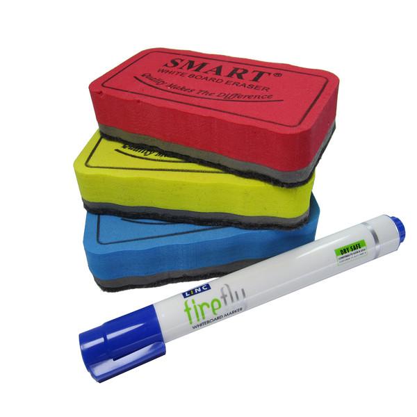 تخته پاک کن SMART مدل 01 همراه با یک عدد ماژیک لینک