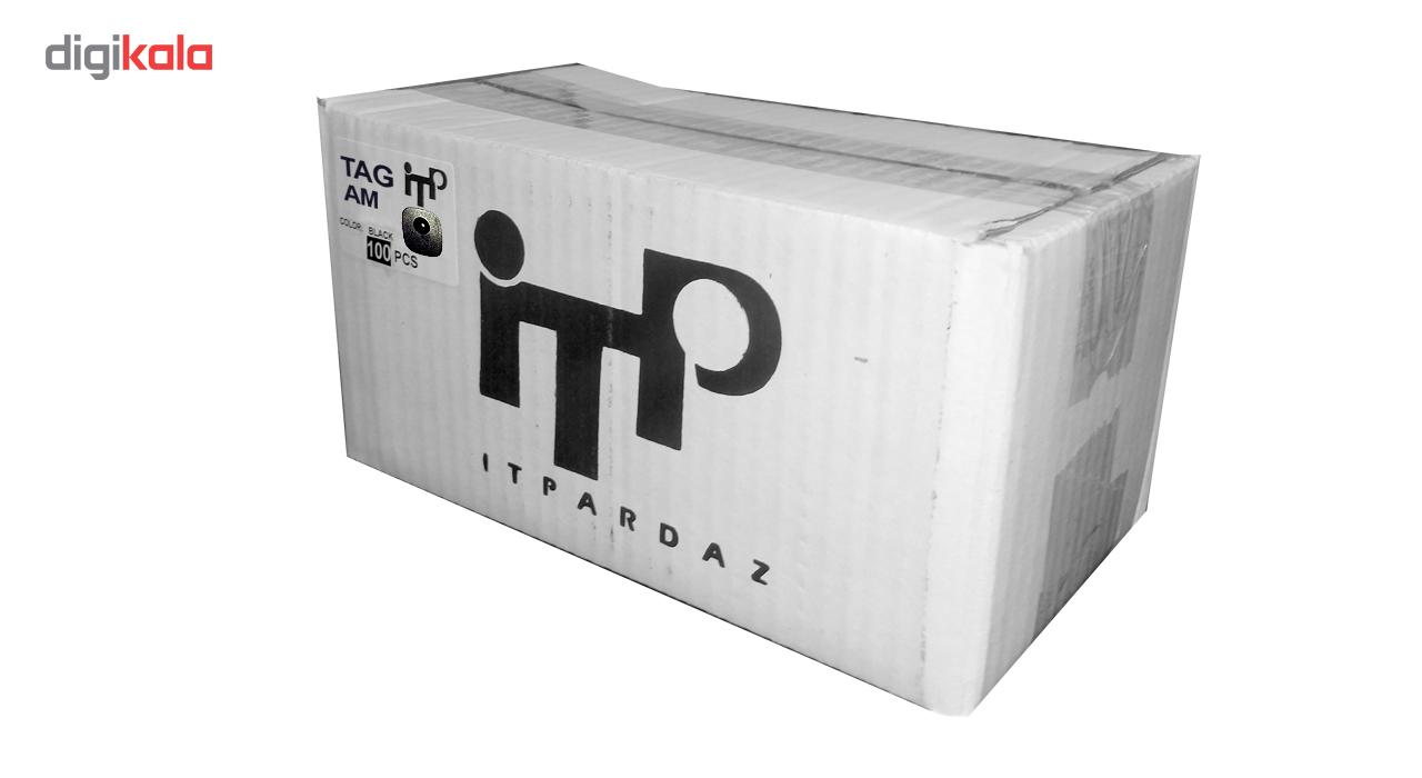 قیمت                      تگ لباس مربعی مدل آی تی پی AM همراه سوزن بسته 100 عددی