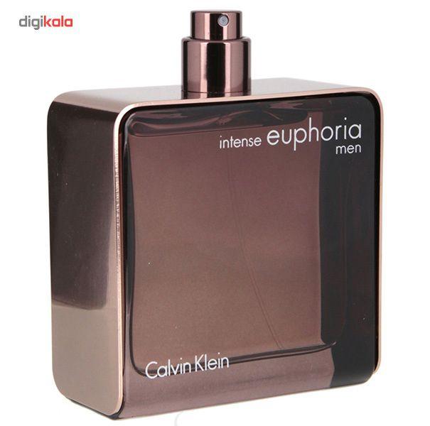 ادو تویلت مردانه کلوین کلاین مدل Euphoria Intense حجم 100 میلی لیتر main 1 1