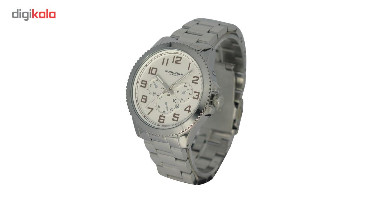 خرید ساعت مچی عقربه ای مردانه مایکل فلنی مدل 2041G-1