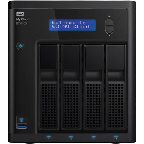 ذخیره ساز تحت شبکه 4Bay وسترن دیجیتال مدل My Cloud EX4100 ظرفیت 8 ترابایت