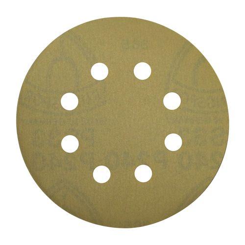 ورق سنباده کلینگسپور پشت کرکی 12.5 سانتی متری مدل C125P240 بسته 10 عددی