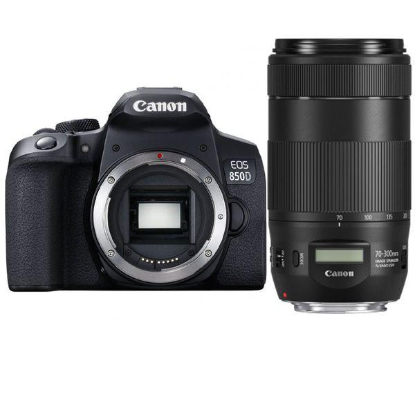 دوربین دیجیتال کانن مدلEOS 850D به همراه لنز 70-300 میلی متر IS II USM