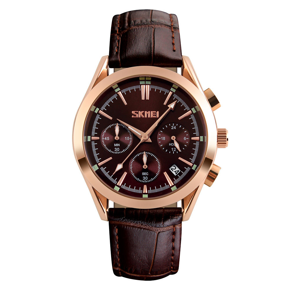 ساعت مچی عقربه ای مردانه اسکمی مدل 9127GH-NP