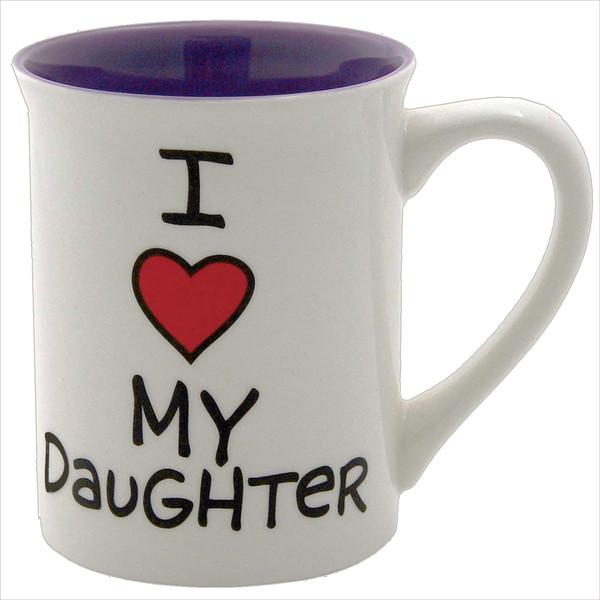 ماگ آور نیم ایز ماد مدل I Heart My Daughter