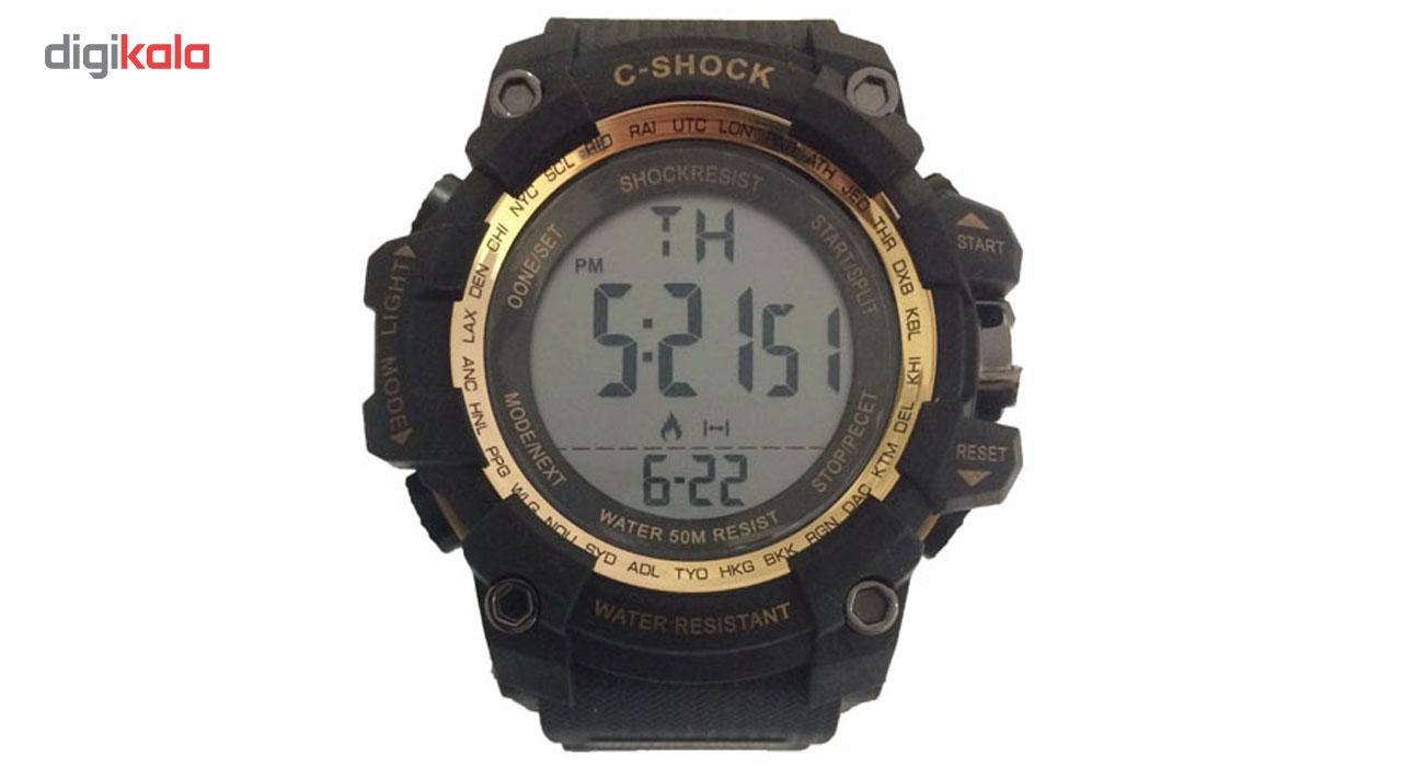 ساعت مچی دیجیتالی سی شاک مدل C-Shock 09
