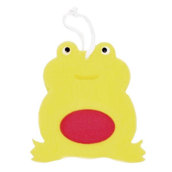 اسفنج حمام کودک مدل قورباغه بانمک