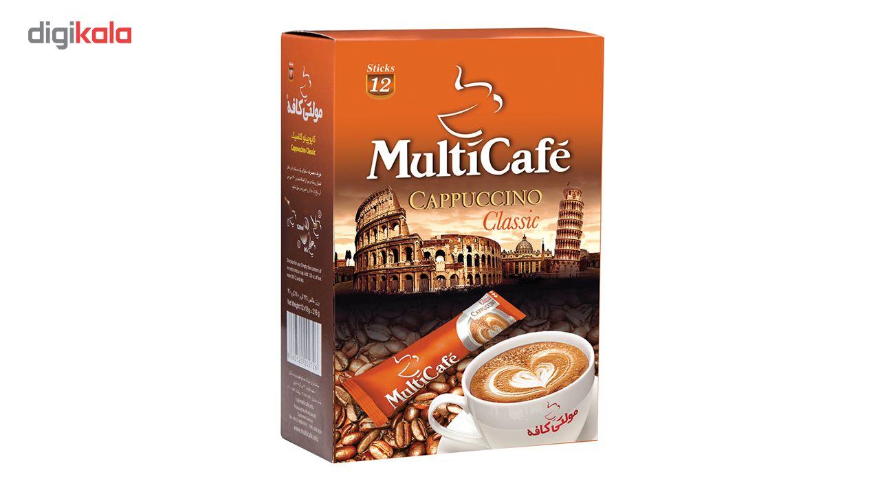 کاپوچینو مولتی کافه بسته 12 عددی main 1 2