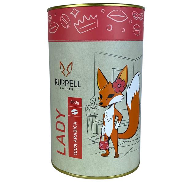 دانه قهوه اسپرسو لیدی روپل - 250 گرم