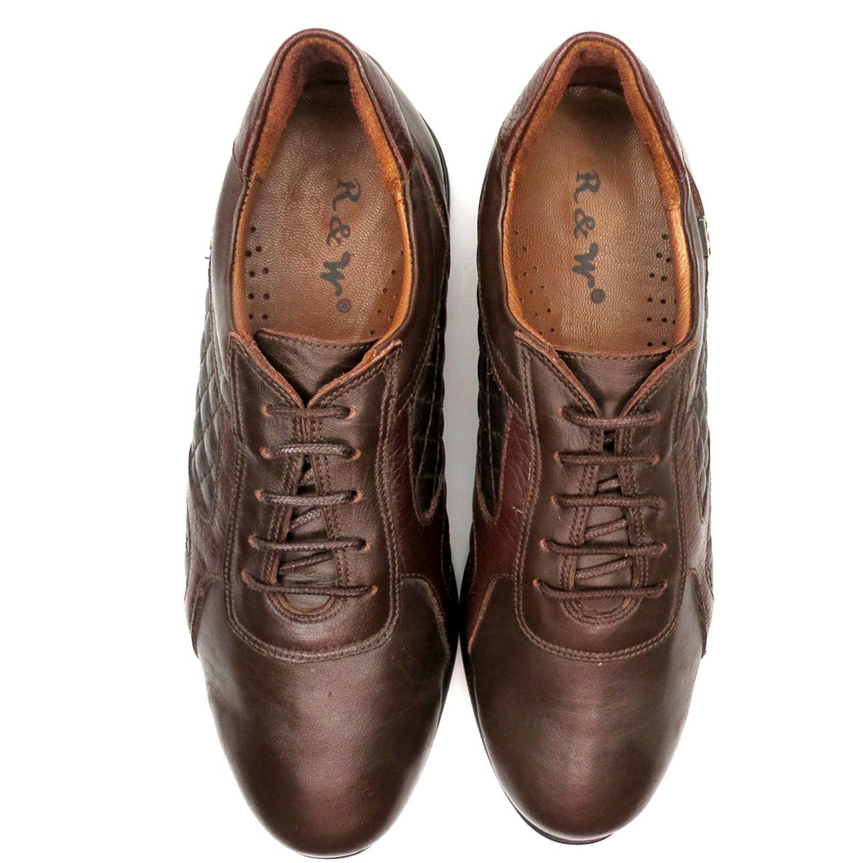 کفش روزمره زنانه آر اند دبلیو مدل 761 رنگ قهوه ای -  - 7