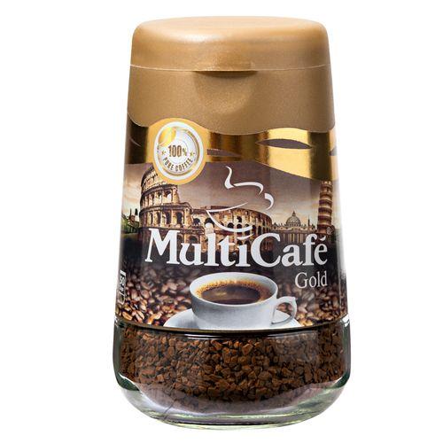 قهوه فوری گلد مولتی کافه مقدار 100 گرم