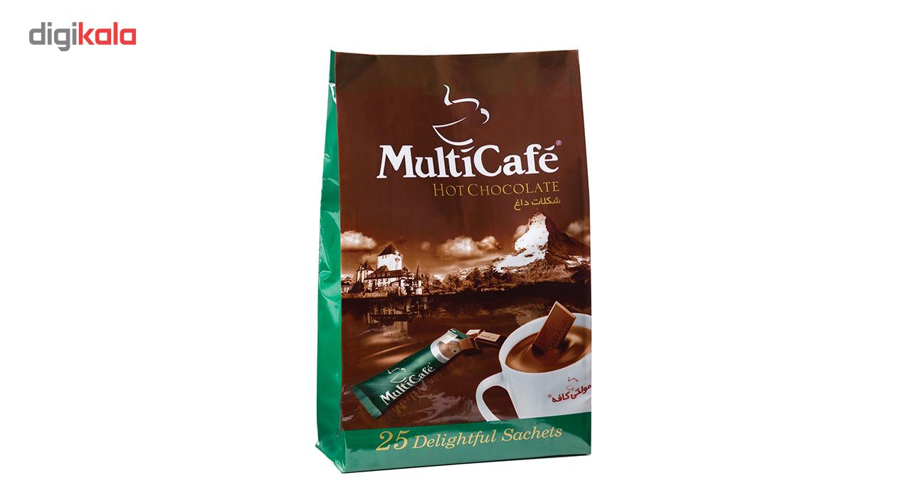 هات چاکلت مولتی کافه مقدار 625 گرم بسته 25 عددی main 1 2