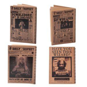 دفتر یادداشت بیگای استودیو مدل شخصیت های هری پاتر بسته 4 عددی